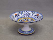 Fruit bowl Persian Palmette, majolica Faenza