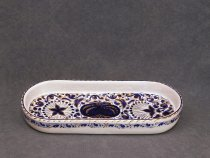 Pomegranate pen tray - faenza ceramics
