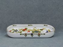 Small tray Garofano - Pen holder, Faenza pottery