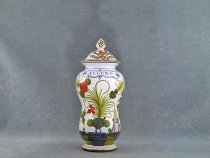 Apothecary jar for Laurel - La Vecchia Faenza italian ceramic