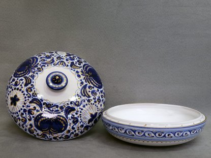 The open jewelery box, La Vecchia Faenza ceramics